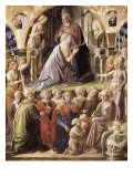 The Coronation of the Virgin Prints by Filippino Lippi