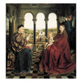 The Rolin Madonna Giclee Print by  Jan van Eyck