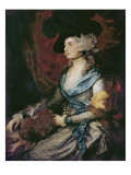Mrs. Sarah Siddons Prints by Thomas Gainsborough
