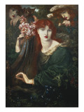 La Ghirlandata Giclee Print by Dante Gabriel Rossetti