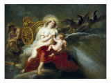 The Birth of the Milky Way Giclee Print by Peter Paul Rubens