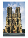 Cathedral of Notre-Dame of Reims Giclee Print