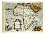 Theatrum Orbis Terrarum (1574) by Abraham Ortelius Giclee Print