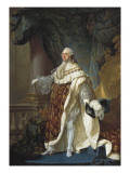 Portrait of Louis XVI Poster by Antoine Francois Callet