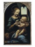 Madonna Benois Art by  Leonardo da Vinci