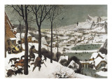 Hunters in the Snow Giclee Print by Pieter Bruegel the Elder
