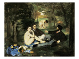 Le Déjeuner Sur L'Herbe (Luncheon on the Grass) Prints by Édouard Manet