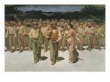 El cuarto estado Pósters por Giuseppe Pellizza da Volpedo