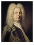 George Frideric Händel Art by Balthasar Denner
