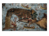 Barberini Mosaic or Nile Mosaic Art