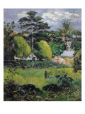 Landscape Posters by Paul Gauguin