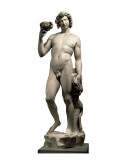 Bacchus Art by  Michelangelo