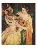 Mother and Child Posters by Mary Cassatt