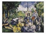 The Picnic (Dejeuner Sur L'Herbe) Giclee Print by Paul Cézanne
