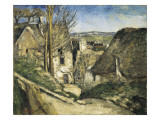 The House of the Hanged Man, Auvers-Sur-Oise Giclee Print by Paul Cezanne