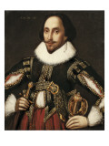 William Shakespeare Giclee Print by Louis Coblitz