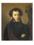 Portrait of Alexander Pushkin Prints by Orest Adamovich Kiprensky