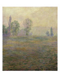 Meadows at Giverny Giclee Print by Claude Monet