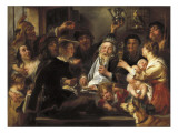 The Bean King Prints by Jacob Jordaens