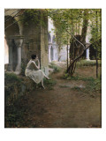 Figure and Cloister Prints by Ramon Casas Carbo