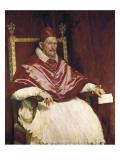 Pope Innocent X Poster von Diego Velázquez