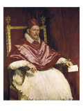 Pope Innocent X Giclee Print by Diego Vel&#225;zquez