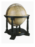 Earth Globe by Mercator Giclee Print by Gerardus Mercator
