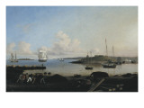 The Fort and Ten Pound Island, Gloucester, Massachusetts Premium Giclee Print by Fitz Hugh Lane