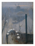 Montmartre Giclee Print by Ramon Casas Carbo