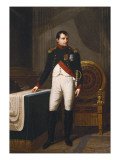 Portrait of Napoleon Bonaparte Giclee Print by Robert Lefevre