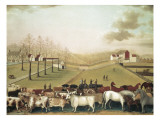 The Cornell Farm Giclee Print by Edward Hicks