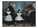 The Bellelli Family (La Famille Bellelli) Premium Giclee Print by Edgar Degas