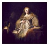 Artemis Prints by  Rembrandt van Rijn
