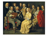 The Musical Reunion (Reunion Musicale, Dit Reunion De Famille) Print by Antoine Le Nain