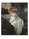 The Milliner Arte por Henri de Toulouse-Lautrec