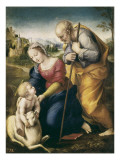 The Holy Family with the Lamb Affiches par  Raphael
