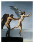 Daedalus and Icarus Poster by Charles Paul Landon