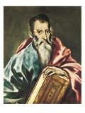 Saint Paul Print by  El Greco