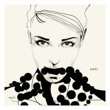Pearls Premium Giclee-trykk av Manuel Rebollo