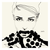 Pearls Giclee Print by Manuel Rebollo