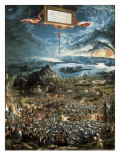 The Battle of Issus, or the Victory of Alexander the Great Giclee Print by Albrecht Altdorfer