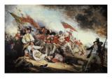 The Battle of Bunker Hill Plakater af John Trumbull