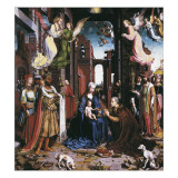The Adoration of the Kings Giclee Print by Jan Gossaert Mabuse