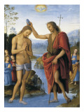 The Baptism of Christ Giclee Print by Pietro Perugino