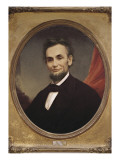 Portrait of Abraham Lincoln Prints by Matthew Henry Wilson