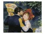 La danse à la campagne Reproduction procédé giclée par Pierre-Auguste Renoir