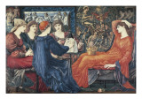 Laus Veneris Print by Edward Burne-Jones
