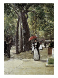 Fifth Avenue at Washington Square, New York Prints by Childe Hassam