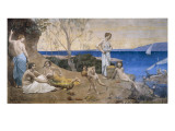 Sweet Country Art by Pierre Puvis de Chavannes