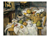 Still Life with Basket Giclee Print by Paul Cézanne